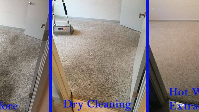Dry Carpet Cleaning vs. Extraction Carpet Cleaning Systems