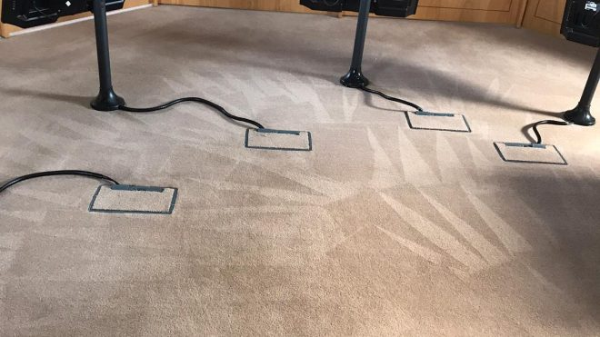 How Hot Water Extraction Carpet Systems Work