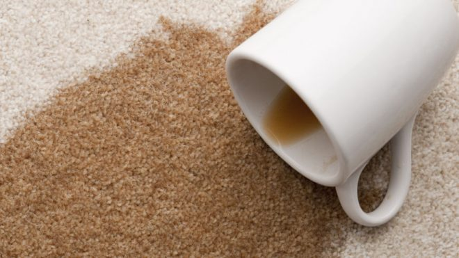 Getting Coffee Stains Off Your Carpet